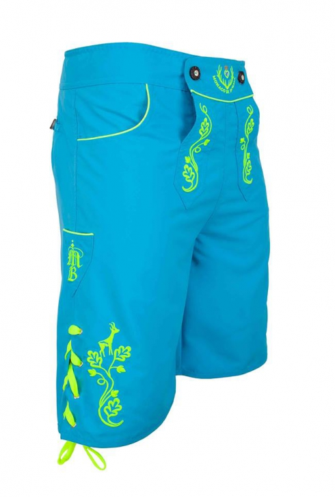 Launch Price Himmlische: Bavarian trunks and leisure pants, blue/yellow M