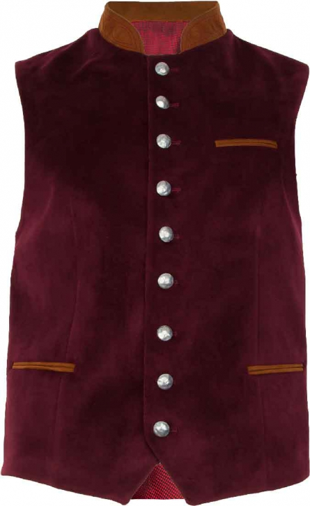 Bavarian Vest, red