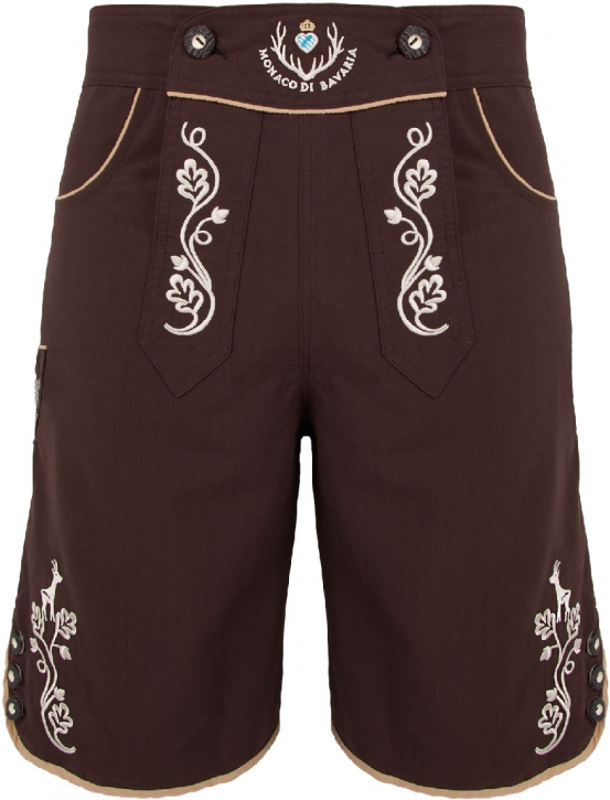 Bavarian trunks and leisure pants, brown L