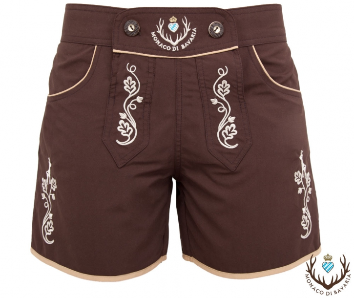 Ladies Bavarian Leisure Shorts, brown
