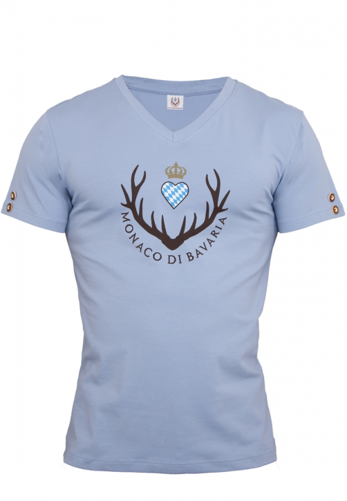 Mens T-shirt, bluegrey