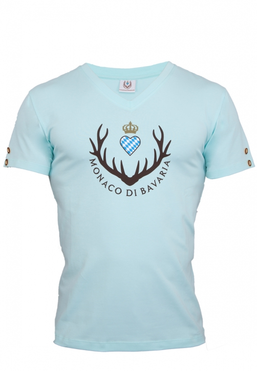 Mens T-shirt, light mint