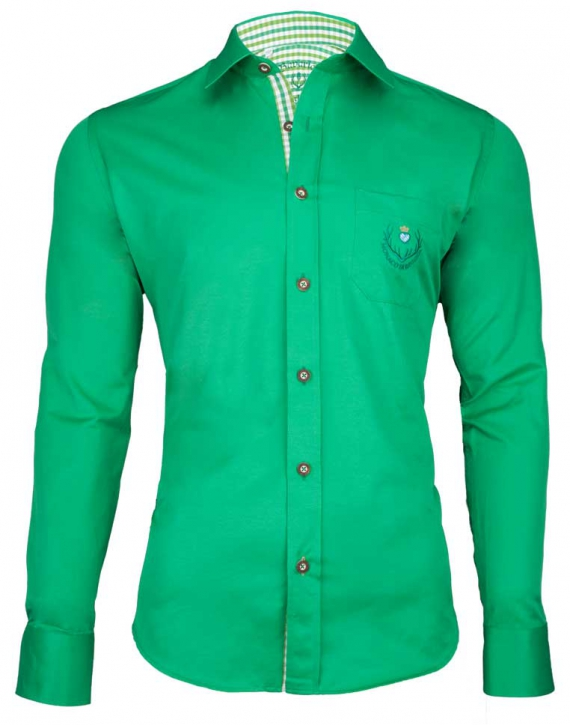Bavarian Shirt Monaco di Bavaria green, L