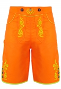 Bavarian trunks and leisure pants, neonorange M