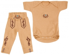 Bavarian Baby Set 2-piece, blue