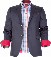 Bavarian sports jacket, navyblue