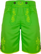 BRANDNEW: Bavarian trunks and leisure pants, neongreen