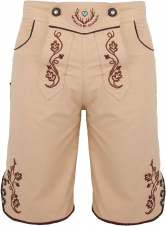 Bavarian trunks and leisure pants, beige